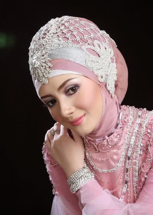 Hijab Pengantin Simple Modern