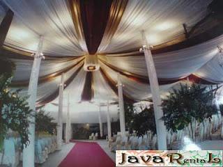 Sewa Tenda Dekorasi VIP - Rental Tenda VIP Acara