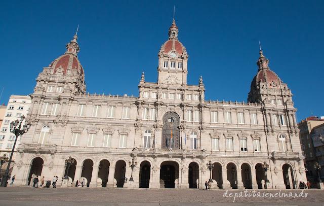 Plaza de Maria Pita A Coruña
