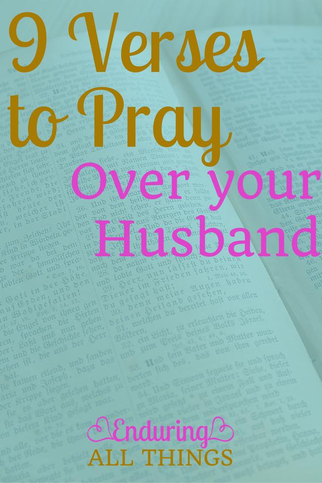9 verses to pray
