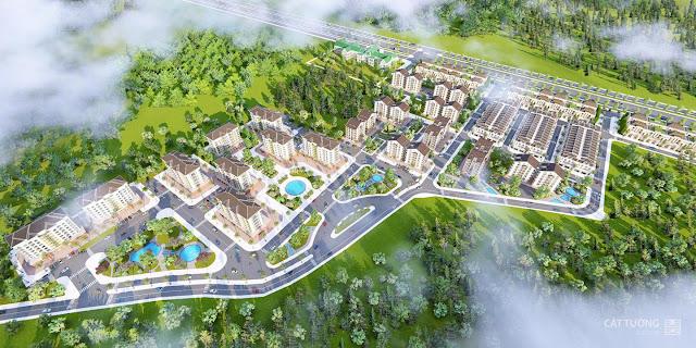 Căn hộ và Đại lộ Phú Hưng - Tuyến đường chính của dự án Cát Tường Phú Hưng