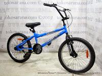 20 Inch Phoenix P20-717-6 BMX Bike Blue
