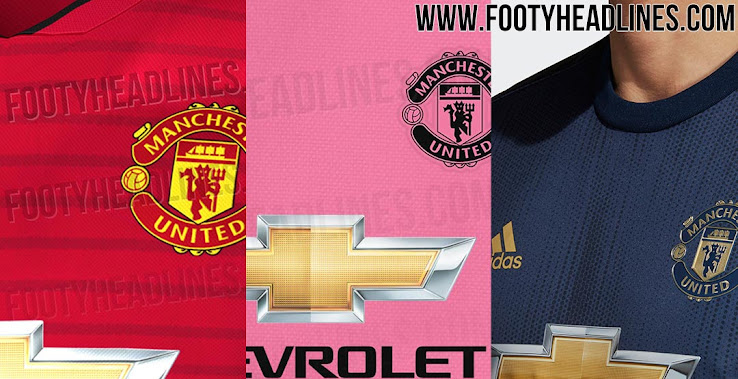 promo code efe54 f1d5b Manchester United 18-19 Home, Away & Third Kits Leaked + All ...