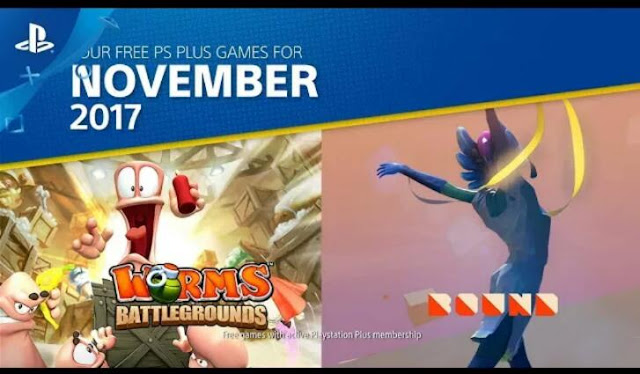List of the free games announced for PlayStation Plus subscribers for November 2017