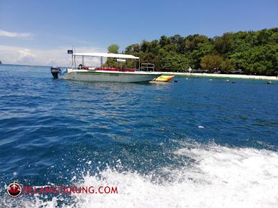 Island Hopping Pulau Tunku Abdul Rahman