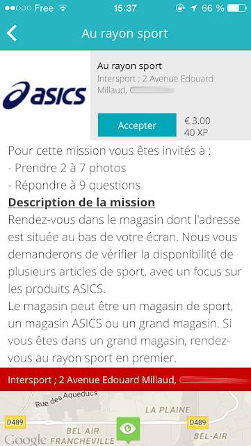 mission rémunéré oasics