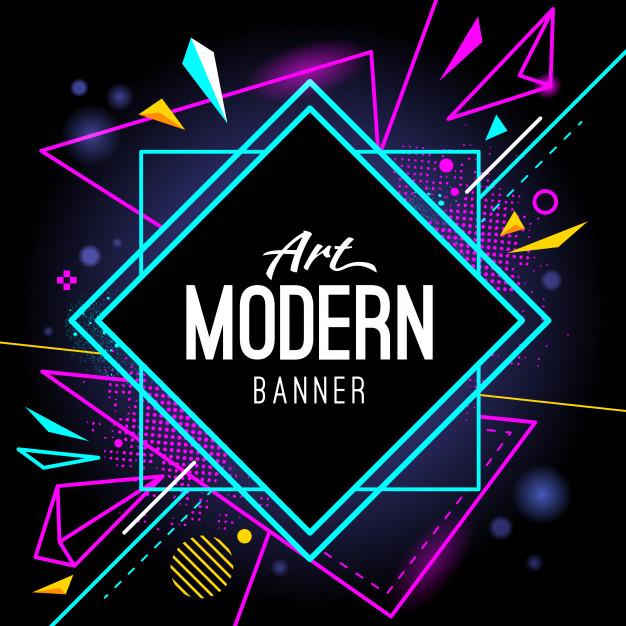 Modern banner Free Vector free banner templates