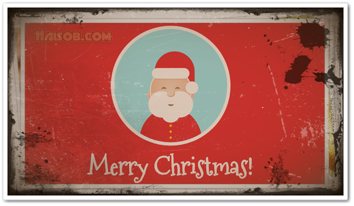 Christmas tree, Santa Claus Loading and other Christmas widgets for Blogger