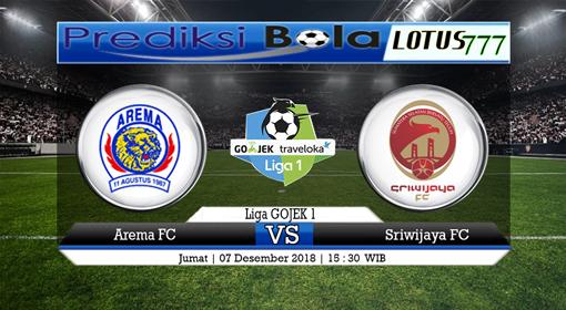 PREDIKSI SKOR Arema FC vs Sriwijaya FC 07 DESEMBER 2018