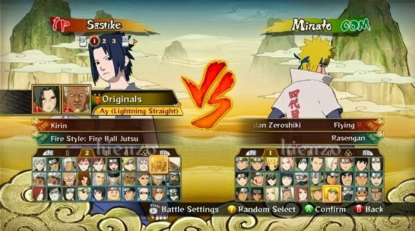 Membuka All Character Naruto Shippuden Ultimate Ninja Storm Revolution