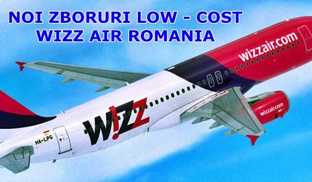 wizz air romania noutati zboruri spre milano si malaga