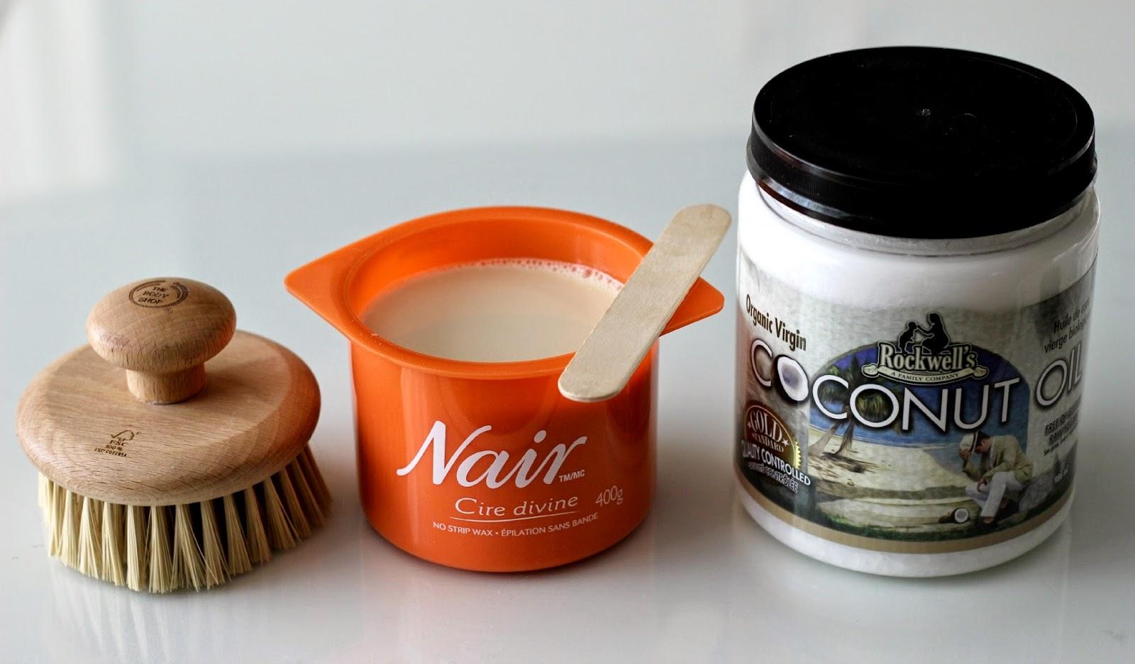 Nair Cire Divine Moroccan Argan Oil Wax