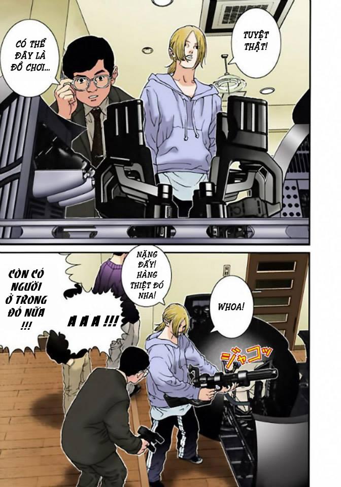 Gantz Chap 04: Mệnh lệnh của quả cầu đen trang 11