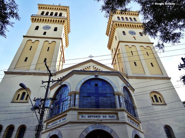 Fachada da Paróquia Santo Antonio do Pari - Bairro do Pari