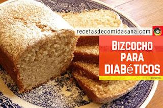 Bizcocho para Diabeticos