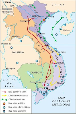 Camino de Ho Chi Minh, el tio Ho