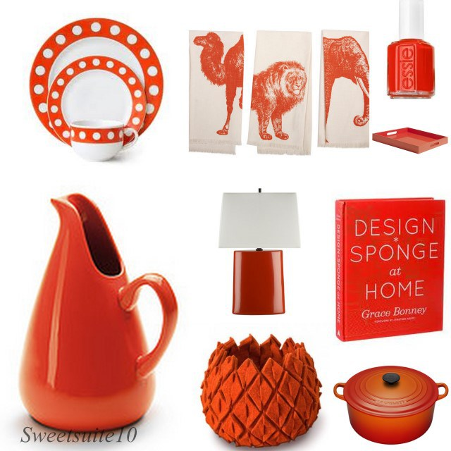 Pantone 2012 colour of the year items