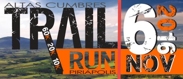 60k - 20k - 10k Altas cumbres - Trail run en Piriápolis (06/nov/2016)