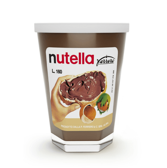 The first version of Nutella
