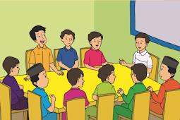 Membuat Peta Pikiran Konsep Pidato Tema 7 Subtema 1 Kelas 6 SD K13
