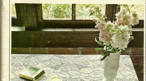 Cubre mantel con diseño de rosas