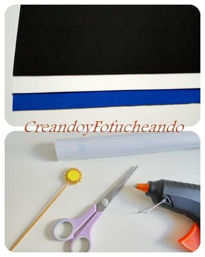 materiales-alfombrilla-para-ratón-monstruo-de-las-galletas-creandoyfofucheando
