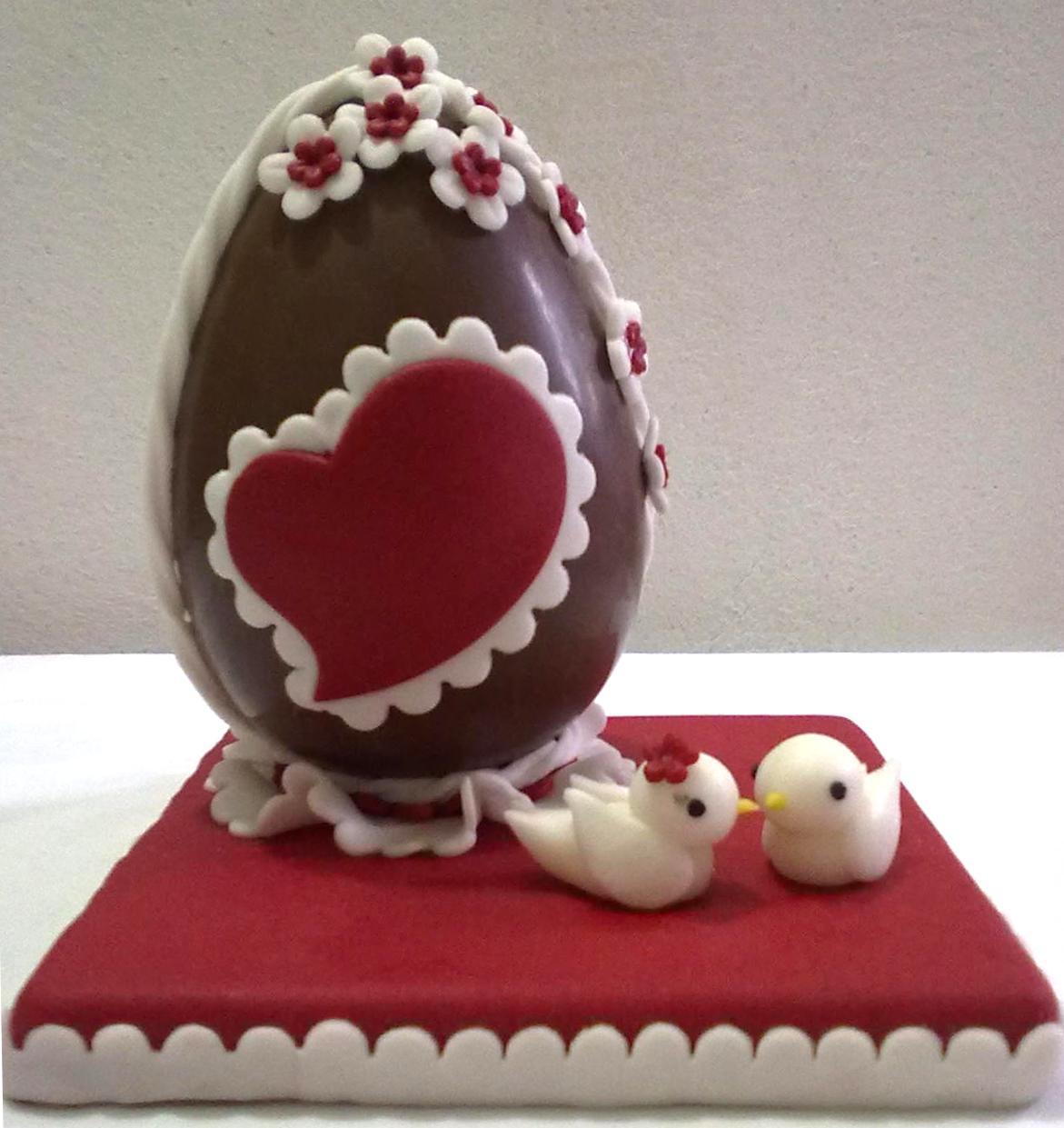 Preferenza Alessandra e i suoi dolci: Uovo di Pasqua decorato RV43