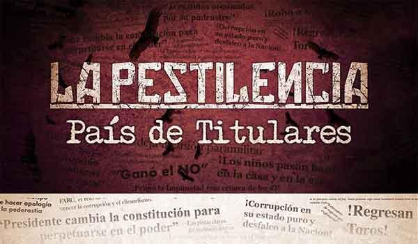"""""""PAÍS DE TITULARES"""" El nuevo disco de La Pestilencia"""