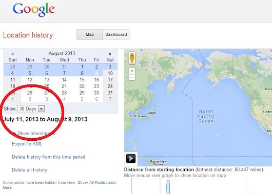 Google Latitude Retiring. Download your location history now. Here's how: