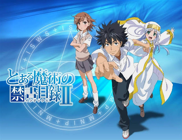[Review Anime] Toaru Majutsu no Index II