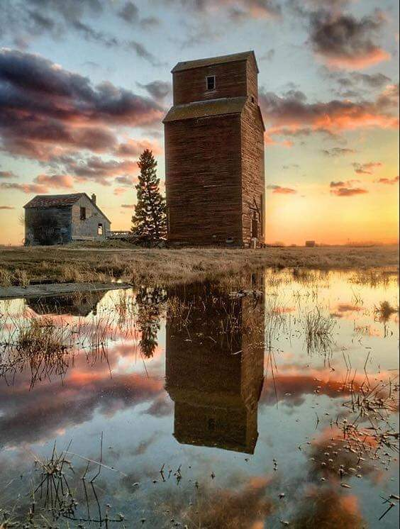 """Saskatchewan Sunset Splendour"""