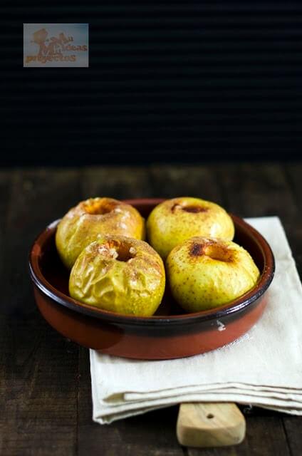 Manzanas Al Horno Las Mejores Recetas De Mi Madre