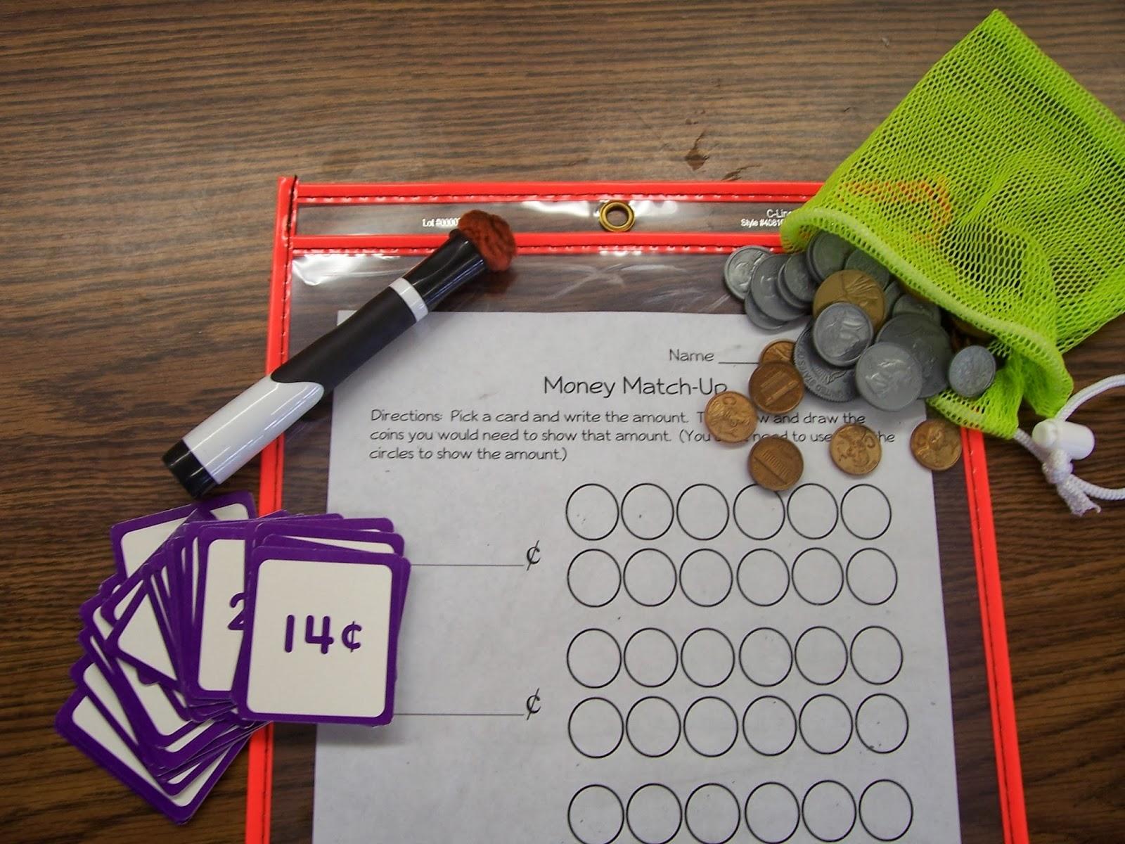 Second Grade Signpost Money Madness Freebie