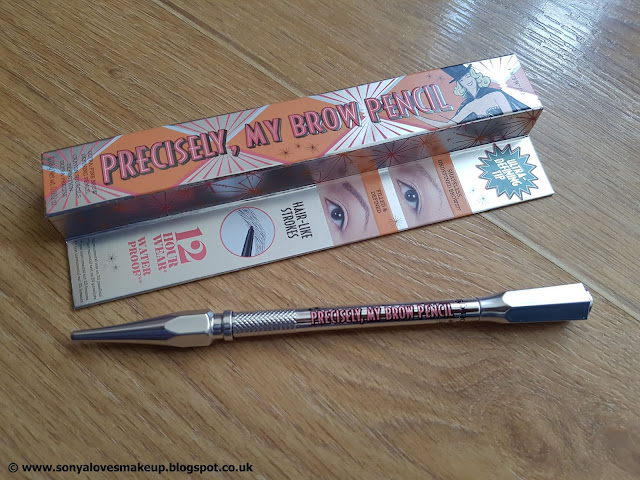 Benefit, benefit cosmetics, Precisely My Brow Pencil, eyebrows