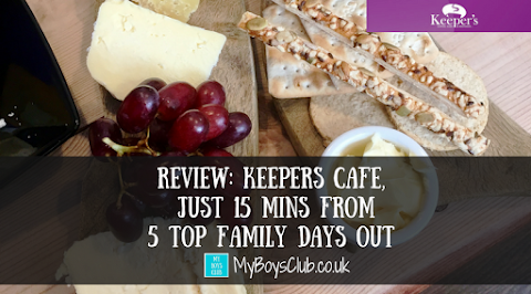 Keepers Cafe, Dipton - 15 mins from  5 Top Family Days Out (REVIEW)