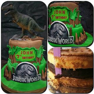 Jurassic World Birthday Cake