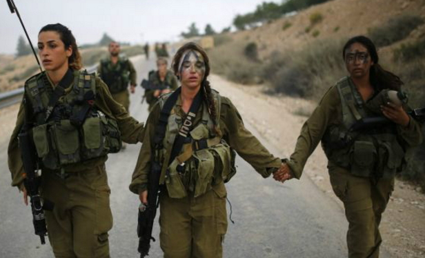 muslim girls enlist israeli army