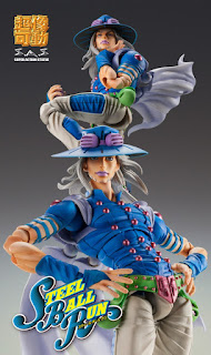 "Imágenes oficiales de Gyro Zeppeli de ""Jojo's Bizarre Adventure: Steel Ball Run"" - Medicos Entertainment"