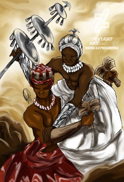 A prisão de Oxalá no reino de Xangô - Charles Corrêa D' Oxum