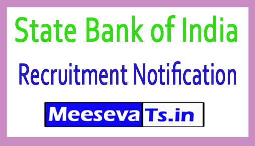 State Bank of India SBI Recruitment