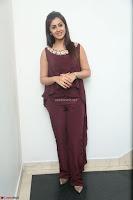 Nikki Galrani in a Brown Shining Sleeveless Gown at Nakshatram music launch ~  Exclusive 035.JPG