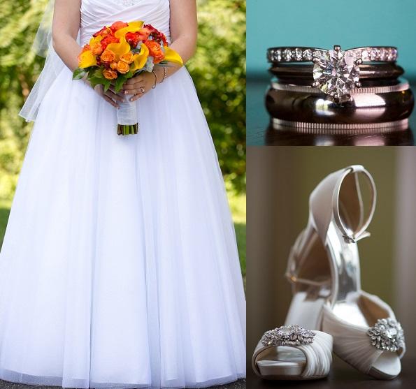 Alfred Angelo Style 205 Cinderella Size 10 Wedding Dress: Nikki's Nail Files