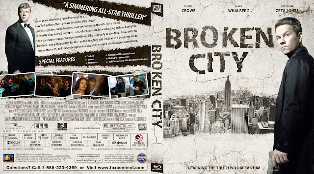 Capa Bluray Broken City
