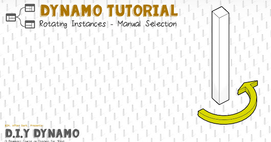 Got 10 Minutes? Learn Dynamo! (Dynamo Tutorial and News Inside!)