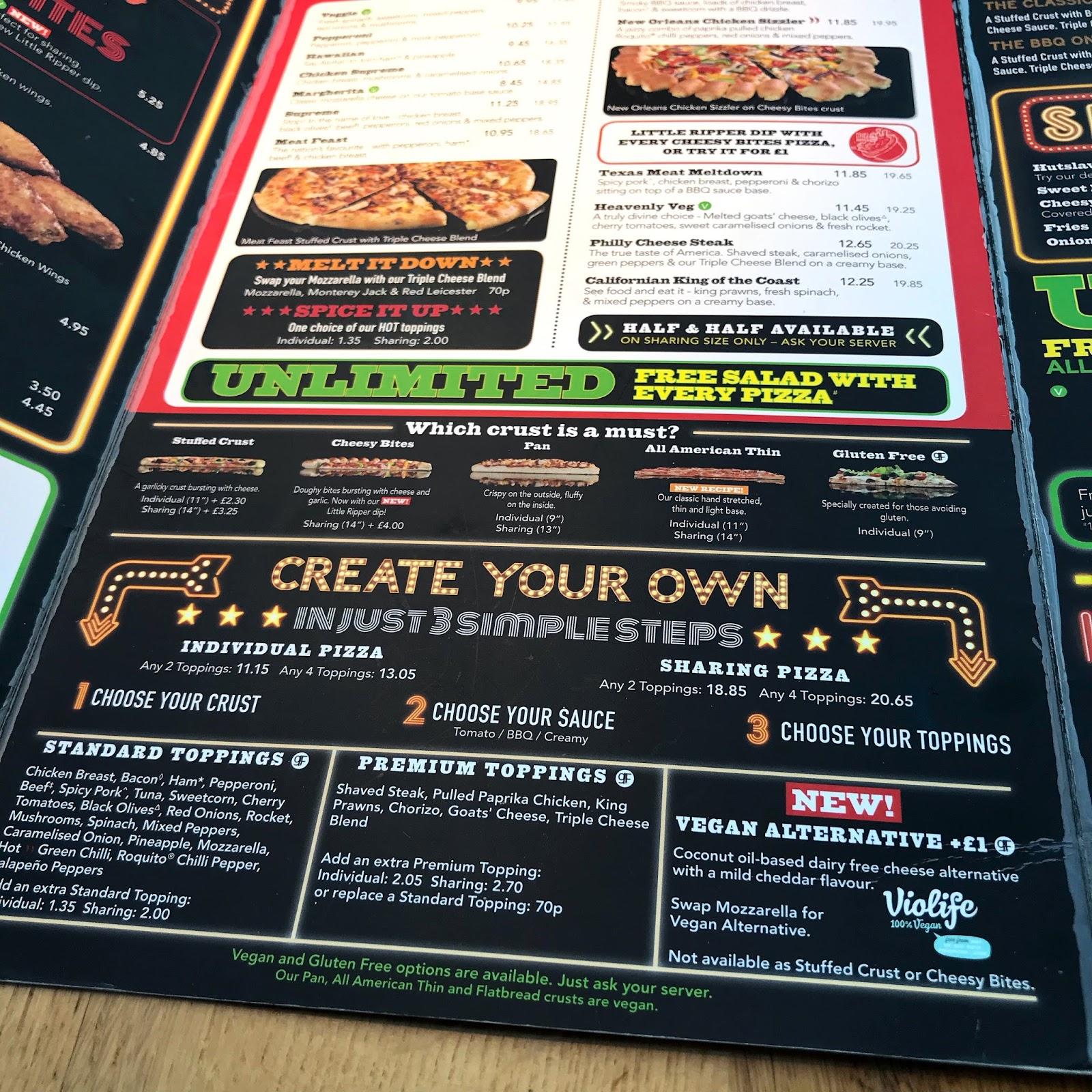 Vegan Pizza Hut Sarah Kirby Cruelty Free Blog