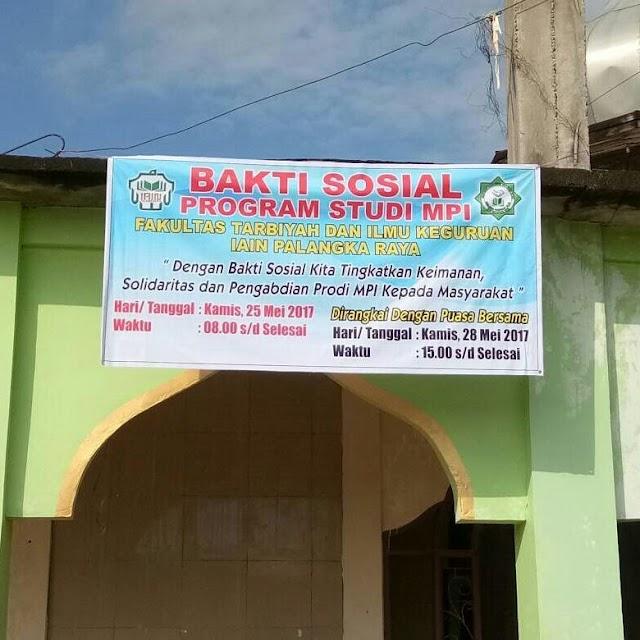 Bakti Sosial Di Masjid Syuhada Kota Palangka Raya
