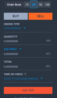 bittrex how to buy and sell