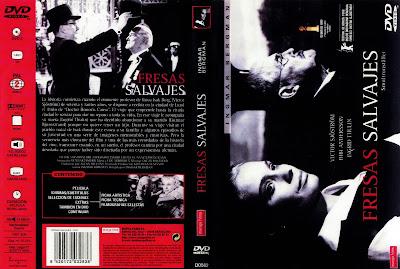 Fresas salvajes (1957) - Carátula dvd - CineClasico.Org