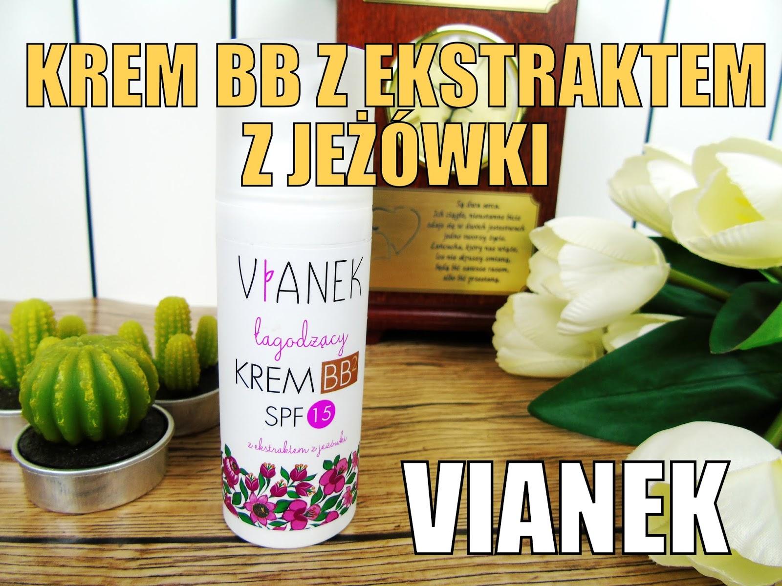 Krem BB marki VIANEK z ekstraktem z jeżówki - DROGERIA WAPTEKA