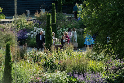 The Opera Garden at Garsington Opera at Wormsley (Photo credit Clive Barda)